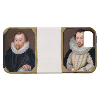 Double portrait of Sir Francis Drake (c.1540-96) a Tough iPhone 5 Case