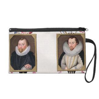 Double portrait of Sir Francis Drake (c.1540-96) a Wristlets