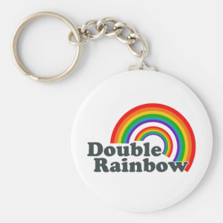 Double Rainbow (Accessories) Key Ring