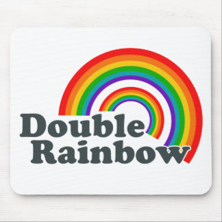 Double Rainbow (Accessories) Mouse Mat