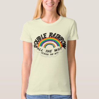 DOUBLE RAINBOW all the way T-Shirt