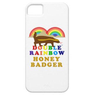 Double Rainbow Honey Badger iPhone 5 Cases