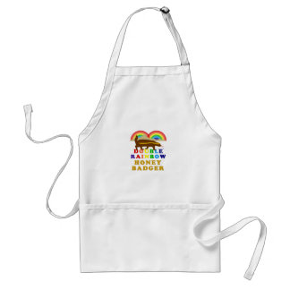 Double Rainbow Honey Badger Standard Apron