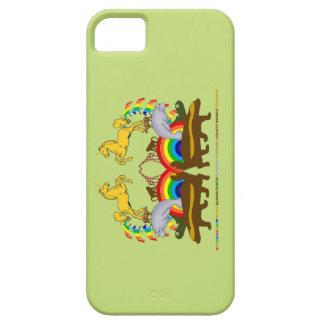 Double Rainbow Honey Badger Turtle Manatee... iPhone 5 Case