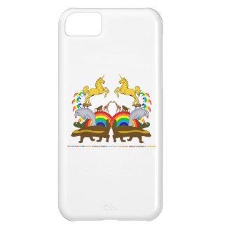 Double Rainbow Honey Badger Turtle Manatee... iPhone 5C Case