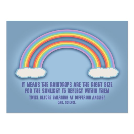 Double Rainbow Meaning Post Cards