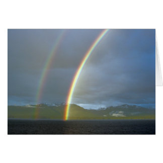 Double Rainbow Note Card