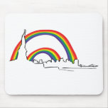 Double rainbow - NYC Mouse Pad