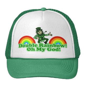 Double Rainbow Oh My God! Hat