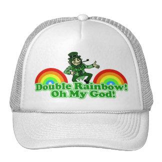 Double Rainbow Oh My God! Trucker Hats