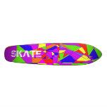 Double Rainbow Skateboard