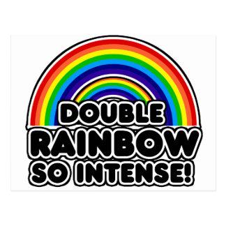 Double Rainbow so Intense Postcard
