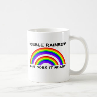 Double Rainbow Video Mug