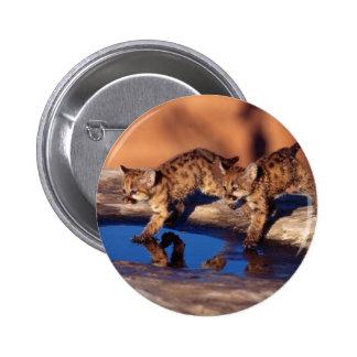 Double Reflections 6 Cm Round Badge