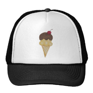 Double Scoop Ice Cream Cone Cap