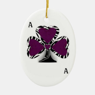 Double sided Ace Ornament