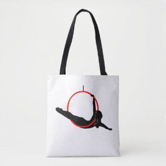Double Sided Aerial Hoop / Lyra Tote Bag