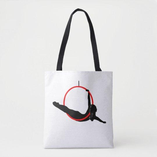 Double Sided Aerial Hoop / Lyra Tote Bag
