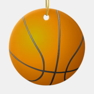 Double sided Basketball Ornament