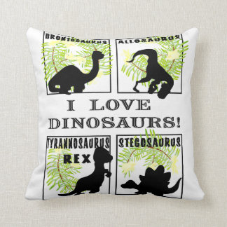 Double sided Dinosaur Pillow