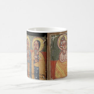 Double-sided Diptych with Mary Basic White Mug