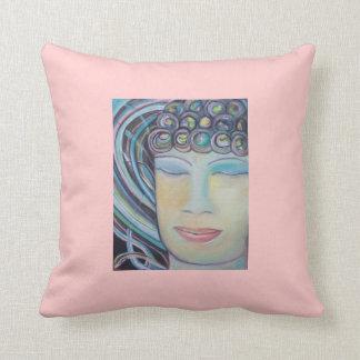 Double-sided Meditating Buddha Pillow Throw Cushion