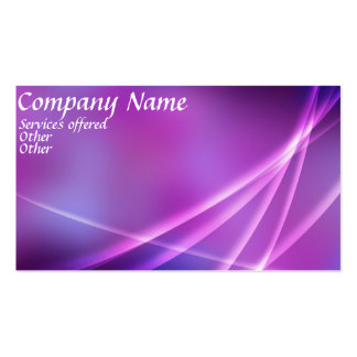 Double Sided pinkbusiness card Pack Of Standard Business Cards
