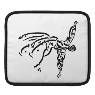 Double Sided Rumi and Tahireh Case iPad Sleeve