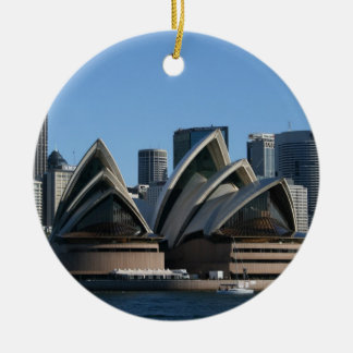 Double-sided Sydney Ornament