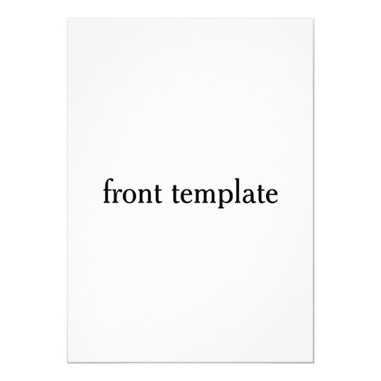 double sided template