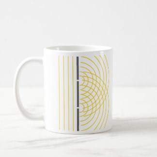 Double Slit Light Wave Particle Science Experiment Coffee Mug
