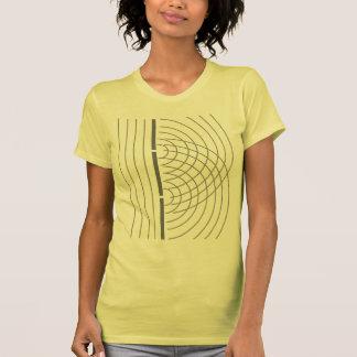 Double Slit Light Wave Particle Science Experiment T Shirts