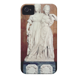 Double statue of the Princesses Louise (1776-1810) iPhone 4 Cover
