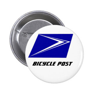 Double Stripe Stamp Bicycle Post Button