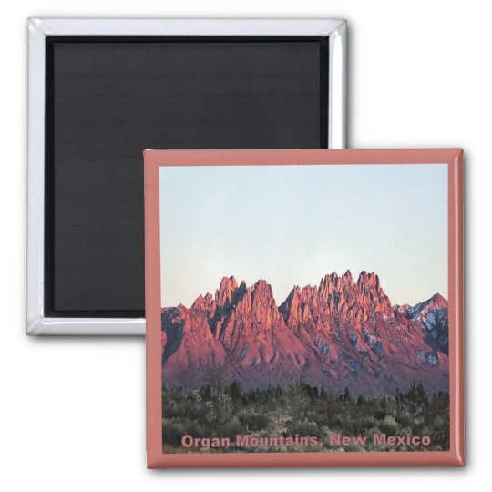 Double Sunset-Organ Mountains Magnet