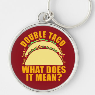 Double Taco Key Ring