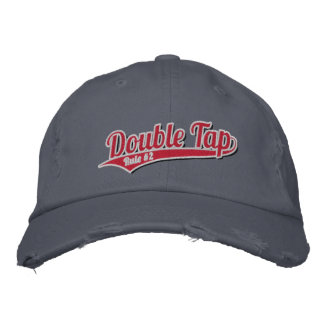 Double Tap - Rule #2 Embroidered Hat