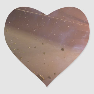 Double the Rubble Heart Sticker