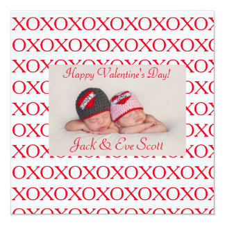Double the Valentine's XOXO love! Card