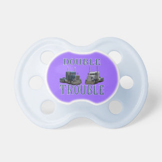 Double Trouble Baby Pacifiers