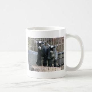 Double Trouble Basic White Mug