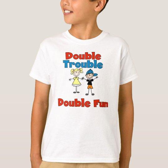Double Trouble Kids T-shirt