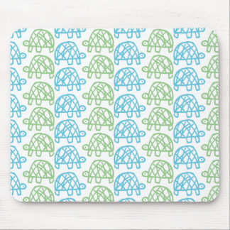 Double turtles mouse mat