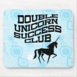 Double Unicorn Success Club Mousepad