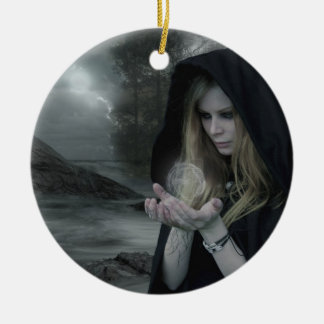 Double Vampire Magic Ornament