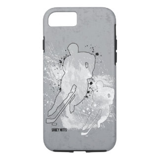 Double Vision Hockey Player iPhone 7 Case