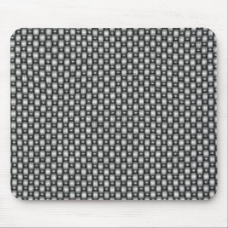 double weave carbon fiber mouse mat