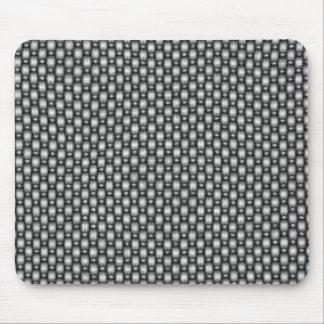 double weave carbon fiber mouse mat