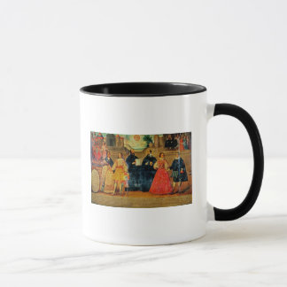 Double wedding between two Inca women Mug