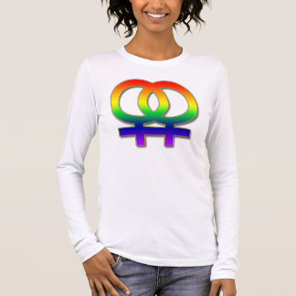 Double Women's Symbol Long Sleeve T-Shirt